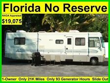NO RESERVE 1998 FOUR WINDS WINDSPORT 33FT SLIDE OUT CLASS A RV MOTORHOME CAMPER
