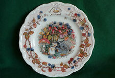 "Royal Doulton Brambly Hedge PIASTRA ~ ~ ""AUTUNNO"""