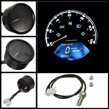 12000RPM LCD Digital Speedometer Odometer Tachometer 2 4 Cylinders Motorcycle