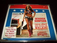 Jessica Simpson These Boots CD Single