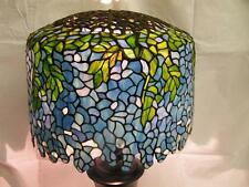 Beautifully Tiffany STYLE Stained Glass Wisteria Lamp Shade