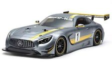 Tamiya Mercedez AMG GT3 TT-02 Chassis 4WD 1/10 Scale Assembly Kit 58639