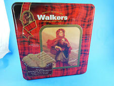 "VINTAGE 1993 WALKERS SHORTBREAD Empty TIN HIGHLAND LASS 8.5X9X3.25"" limited Ed."