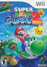Super Mario Galaxy 2 Nintendo Wii Complete NM Wii, Video Games