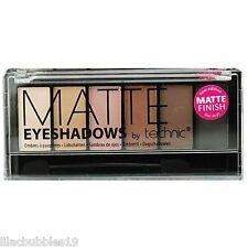 TECHNIC MATTE EYESHADOW PALETTE 6 X BROWN/NEUTRAL/NUDE/TAUPE SHADES NEW SEALED