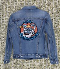 Jim Phillips Volks Machine Works Levis Denim Trucker Jacket Small Special Ed