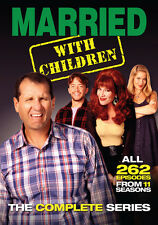 Married With Children: The Complete Series (2015, DVD NEUF)21 DISC SET
