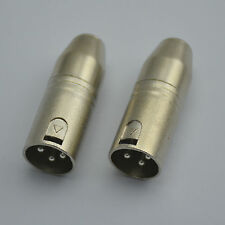 2PCS,3 pin XLR Male to 3 pin Mini XLR Male Mic adapter,SA3X767