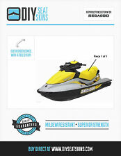 GTS GTI SEA DOO YELLOW Seat Skin Cover 02 03 04 05 06/7