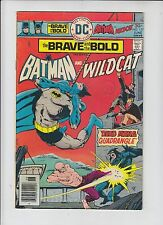 DC Comics The Brave and the Bold Batman Wildcat Comic No 127 - June 1976