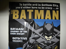 """BATMAN """"ON SALE HERE""""  PROMOTIONAL POSTER VF/NM"""