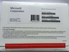 MICROSOFT Windows 8.1 PRO 64 Bit System Builder OEM include COA-FACTORY sono