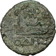 Odessos Thrace Ancient Greek 200Bc Coin Great God Prosperity Wealth i16829