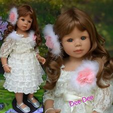 Masterpiece Dee Dee Brown, Blue Eyes ,Monika Levenig Vinyl, Ball-jointed Doll
