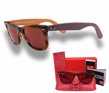 Ray Ban Wayfarer Sunglasses TORTE_VIOLET_ORANGE_RED MIRROR 2140 1177 2K 50mm