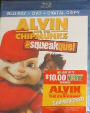 Alvin and the Chipmunks: The Squeakquel (Blu-ray/DVD, 2010, 3-Disc Set,...