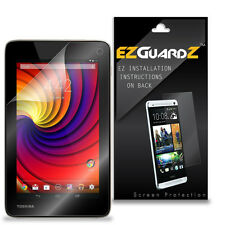 2X EZguardz LCD Screen Protector Cover HD 2X For Toshiba Excite Go AT7-C8 Tablet