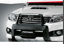 GENUINE BLACK FRONT BUMPER GUARD FOR NEW TOYOTA FORTUNER 2011-2013
