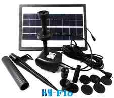 3.6W 250L/H Pond Fountain Solar Fountain Water Pump With Battery and LED Light