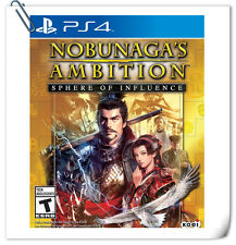 PS4 Nobunaga's Ambition: Sphere of Influence Sony Games Strategy Koei Tecmo