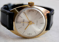VINTAGE VOSTOK RUSSIAN GOLD PLATED JENT'S CHRONOMETER WATCH Analog ZENITH 135