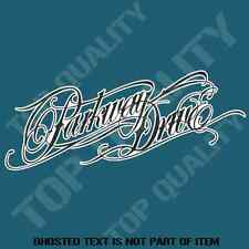 PARKWAY DRIVE DECAL STICKER HEAVY METAL MUSIC BAND DECALS STICKERS JDM DRIFT