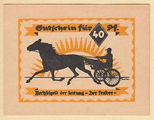 Hamburg -Drei Türme-Verlag DER TRABER- 40 Pf. KNr. rotviolett (L 508.2)