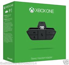 Xbox One Stereo Headset Adapter Game Audio Official Gaming Chat Console UK