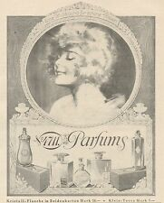 Y5047 Parfums 4711 - Illustrazione - Pubblicità d'epoca - 1925 Old advertising