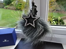100% Authentic Swarovski Pom Pom Bag Charm/ Key Ring 5221835 BNWT