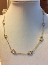 $98 Kate Spade Opening Night Gold Tone Necklace KS 191. MKA-36