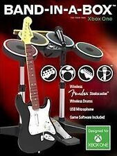 Rock Band 4 Band-in-a-Box Bundle For Xbox One w/ Wireless Guitar/Drum & USB Mic