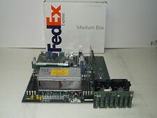 HP Proliant DL385 G2 Server motherboard w/ CPUs 4GB RAM PCIe Riser SAS Backplane
