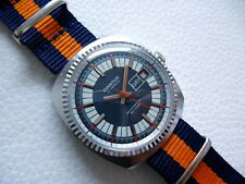 Elegant Vintage Very rare Blue DIANTUS Men's dress watch from the 1970's years!