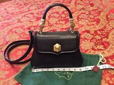 ICONIC COLLECTIBLE Barry Kieselstein-Cord TROPHY Alligator black leather Bag