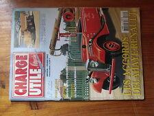 $$w Revue Charge Utile magazine N°122 Accords Delahaye-Renault  Dumpers IH