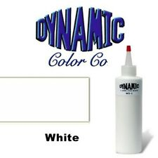 DYNAMIC WHITE 1-oz Tattoo Ink Brite Vibrant & Dark Color Supply