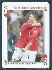 PLAYING CARD-FAR EAST ISSUE-CRISTIANO RONALDO-MANCHESTER UNITED-REF #3H