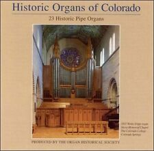HISTORIC ORGANS OF COLORADO -4 CDs 23 pipe organs