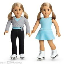 AMERICAN GIRL 2 IN 1 ICE SKATING SET NIB RETIRED MIA SAIGE DOLL NOT INCLUDED