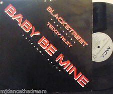 "BLACKSTREET feat TEDDY RILEY ~ Baby Be Mine ~ 12"" Single PS"