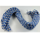 100 FT Paracord 550 Camping Para cord Bracelets Buckle Survival Hiking #3 AB