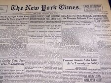 1947 JUNE 19 NEW YORK TIMES - CITY AUTO TAX UNLIKELY - NT 3419