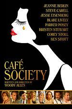 CAFE SOCIETY MANIFESTO WOODY ALLEN KRISTEN STEWART BLAKE LIVELY EISENBERG