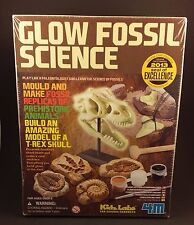 Glow Fossil Science Kit Dinosaur Fossil Kit Make T-Rex Skull Prehistoric Animals