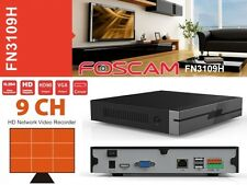 Foscam FN3109H - Network Video Recorder (NVR), 9 canali ONVIF HD 960p, Slot HDD