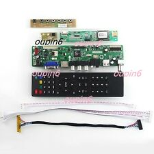 TV Controller board kit HDMI CVBS RF PC Auido for LCD QD15TL04/QD15TL02 1280X800
