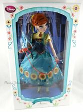 "New Disney Store Limited-Edition 17"" Anna Collector Doll LE 5000 Frozen Fever"