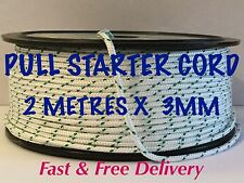 STRIMMER / HEDGE-TRIMMER PULL CORD START ROPE 3MM X 2 METRES,
