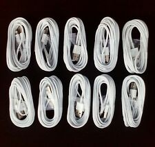 10 Lot 10 Foot Cables 10' Cord for Apple iPhone 5 Iphone 6 10 Foot Cables